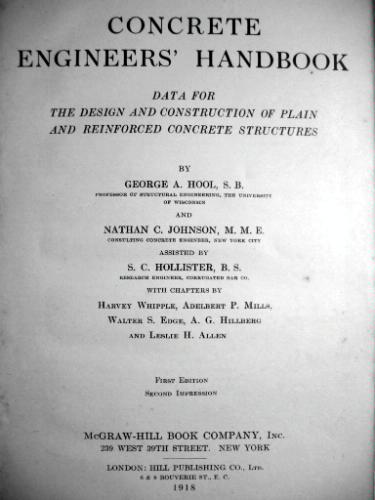 Concrete Engineers' Handbook