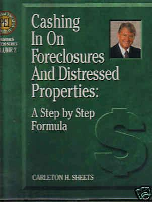 Cashing in on Foreclosures and Distressed Properties: A Step By Step Formula (4 Audio CDs and Guide) (Investor's Success Series)