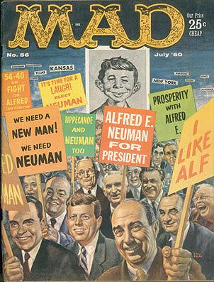 MAD magazine Volume 1, Number 56, July 1960, Feldstein, Albert B. (editor)