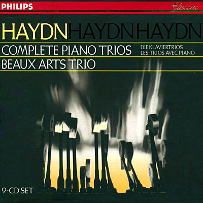 Haydn   Complete Piano Trios   Beaux Arts Trio, Lossless Flac9 cd set Classic booklet preview 0