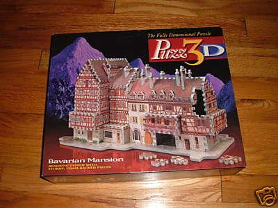 Puzz 3D Bavarian Mansion Jigsaw Puzzle