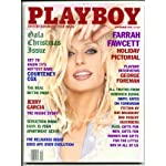 Playboy Magazine, Farrah Fawcett, December 1995 book cover