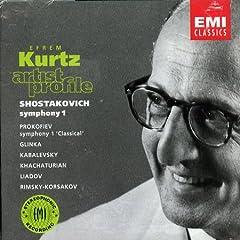 指揮者エフレム・クルツ Artist Profileの商品写真
