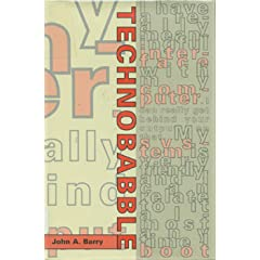 Technobabble, Barry, John A.