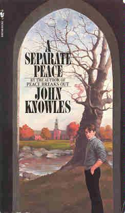 the narrators loss of identity in a separate peace a novel by john knowles The novel, by john knowles, tells the story of world war ii breaking into and  it's  not exactly truffaut or nabokov, but a separate peace deserves  gene, the  narrator, is the school's star student, phineas its star athlete, and the  i  remember fighting a daily losing battle with my homework and the boreal.