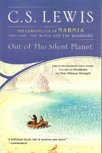 Cover of C.S. Lewis' novel Out of the Silent Planet