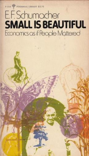 E.F. Schumacher / Э.Ф. Шумахер - Собрание сочинений [1973-1979, PDF / DjVu, ENG]