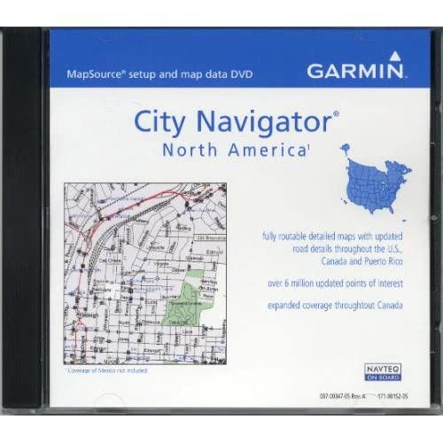 Garmin MapSource City Navigator North America v 8 010 10474 00 GoSale Pr