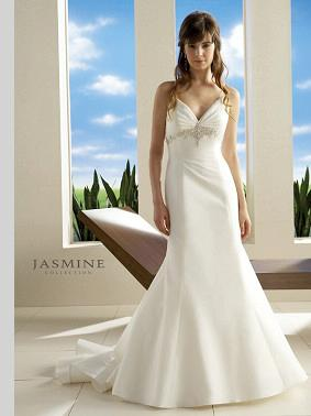 Embroidered Beautiful Wedding Gown