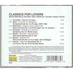Classics For Lovers Vol 1