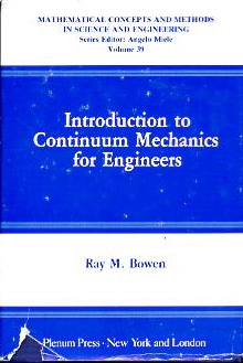 Large book cover: Introduction to Continuum Mechanics for Engineers