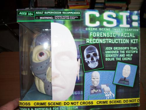Csi facial reconstruction and, with