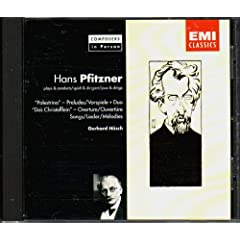 Pfitzner Plays and Conductsの商品写真