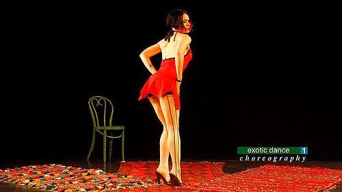 美国性感舞蹈健身引领魅惑