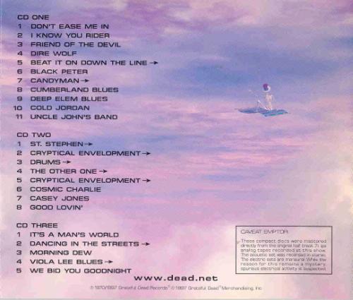 Grateful Dead - Dick's Picks Vol. 8 (1997) 80fac0a398a054f54ff40210.L