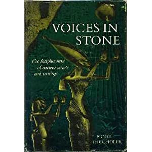 Voices In Stone: The Dechipherment Of Ancient Scripts, Doblhofer, Ernst