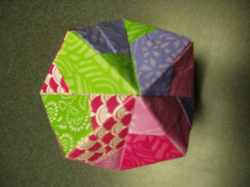 Customer Image Gallery for Unfolding Mathematics with Unit Origami