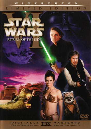Star Wars VI—Return of the Jedi DVD Cover Art