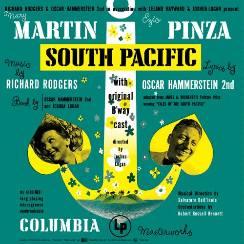 South Pacific Original Broadway Cast on oscar hammerstein ii