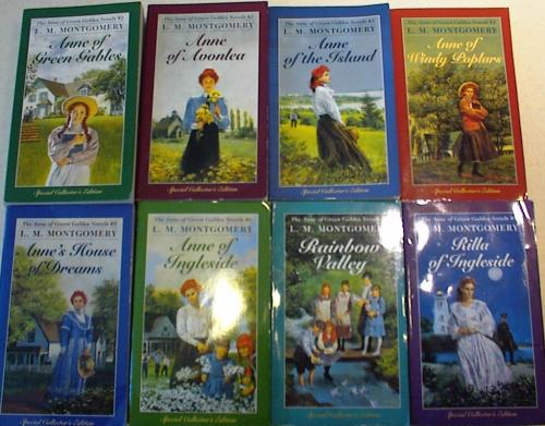 绿山墙的安妮系列有声书 1,2,3