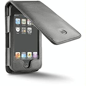 DLO HipCase Leather Folio for iPod touch (Black)