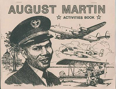 August Martin Activities Book, No author stated.