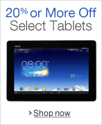 Save 20% or More On Select Tablets