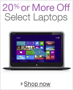 Save 20% or More on Select Laptops