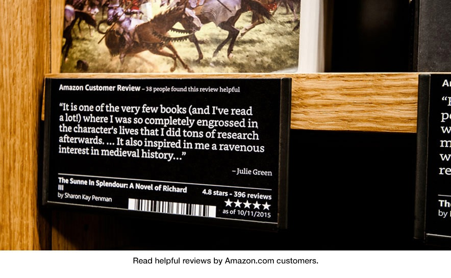 Read helpful reviews by Amazon.com customers at Amazon Books in University Village, Seattle