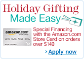 Holiday Gifting Made Easy with the Amazon.com Store Card