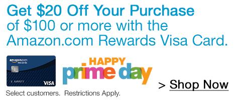 Amazon.com Rewards Visa Cardmember Exclusive