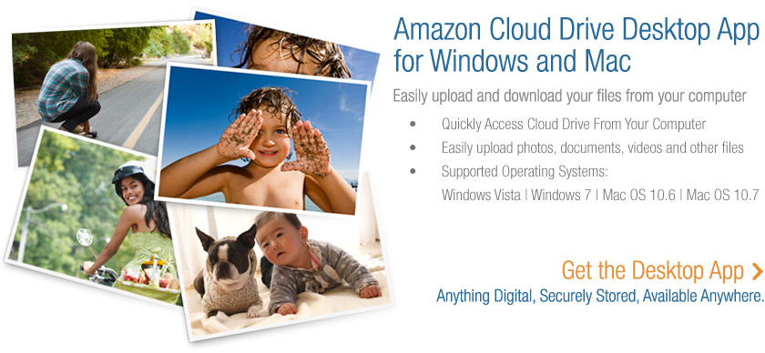 5G Amazon Cloud Drive Desktop for Win & Mac