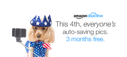 This 4th, everyone's auto-saving pics. It's free.