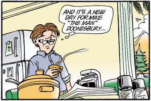 Doonesbury on Kindle Fire