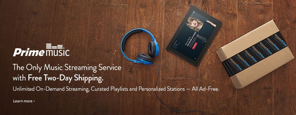 Learn more about Amazon Prime Music