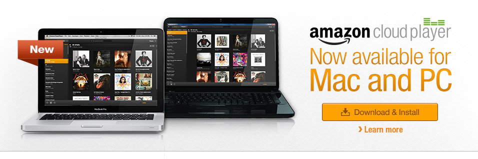 Amazon Cloud Player for PC and Mac