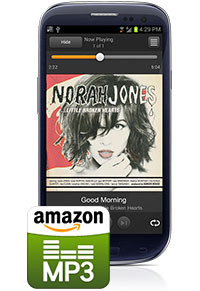 Amazon MP3 for Android with Amazon Cloud Player