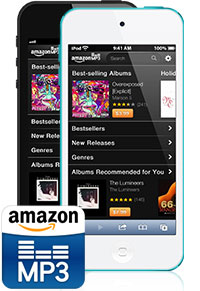 Amazon MP3 store for iPhone and iPod touch