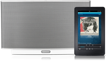 Sonos Play:5 and Kindle Fire controller
