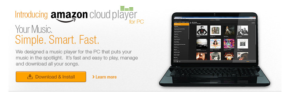 Introducing Amazon Cloud Player for PC