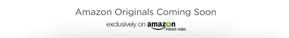 Amazon Originals Coming Soon