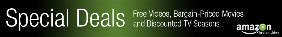 Amazon Video On Demand Special Deals