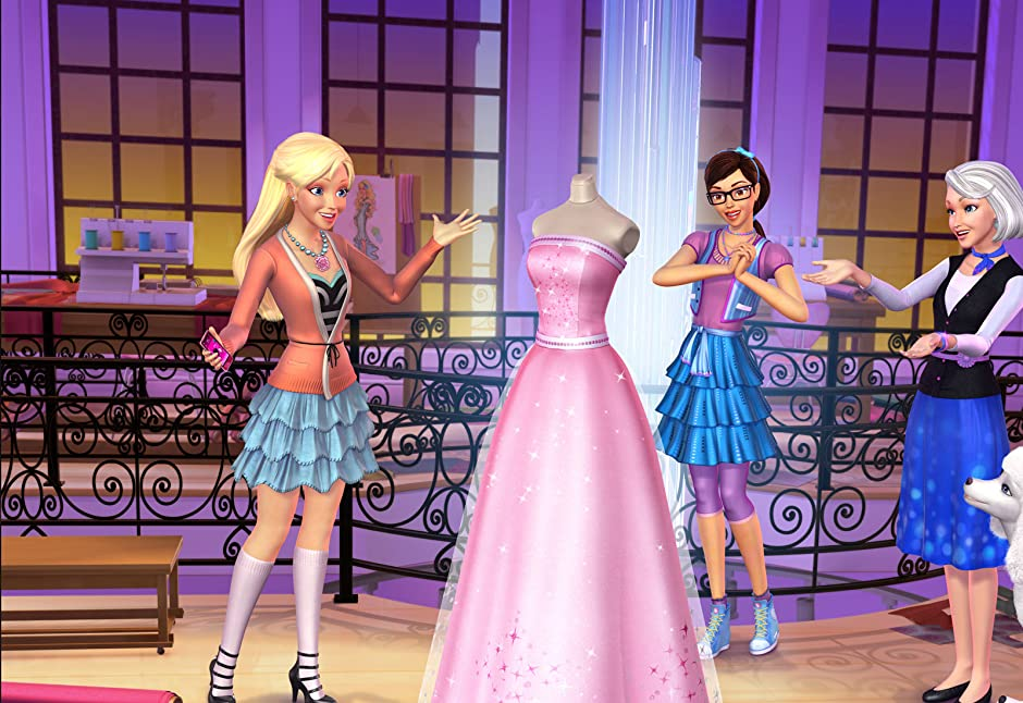 Games Barbie Fashion Show Barbie is just an