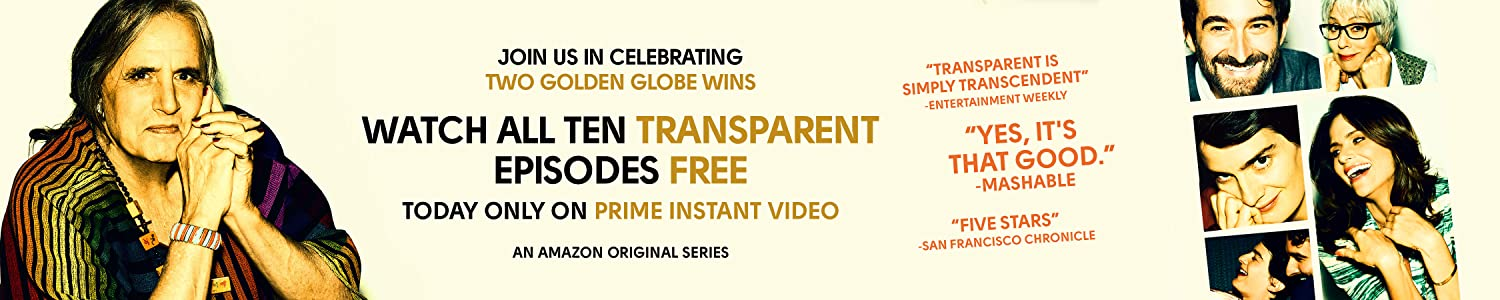 Watch Amazon Original Series Transparent Free Today Only