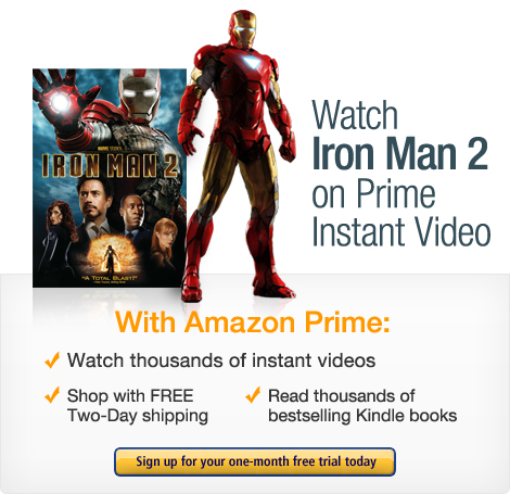 Start your one-month free trial. Amazon Prime includes instant videos.