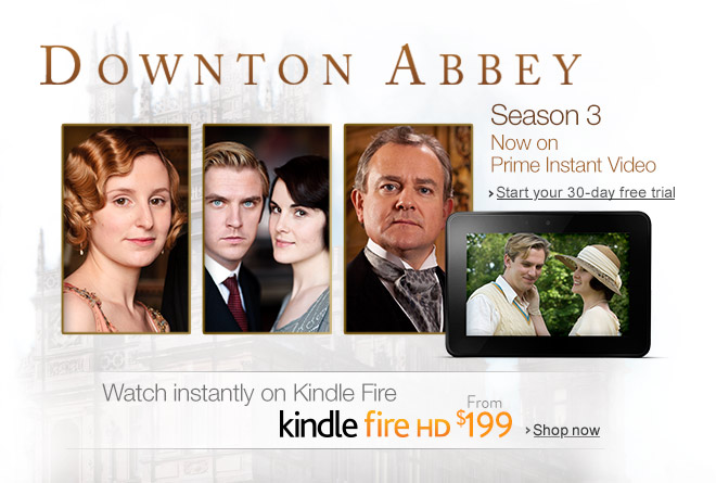 Downton Abbey on Kindle Fire HD