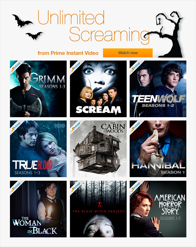 Unlimited Screaming on Prime Instant Video