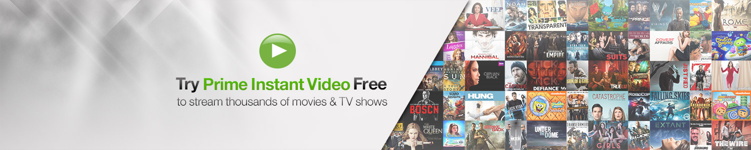 Unlimited Streaming on Prime Instant Video