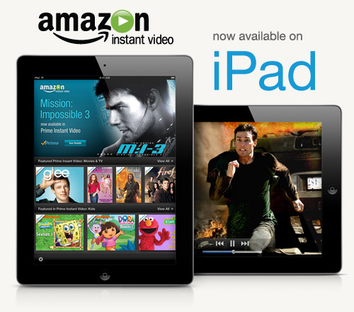 Amazon VOD now on iPad