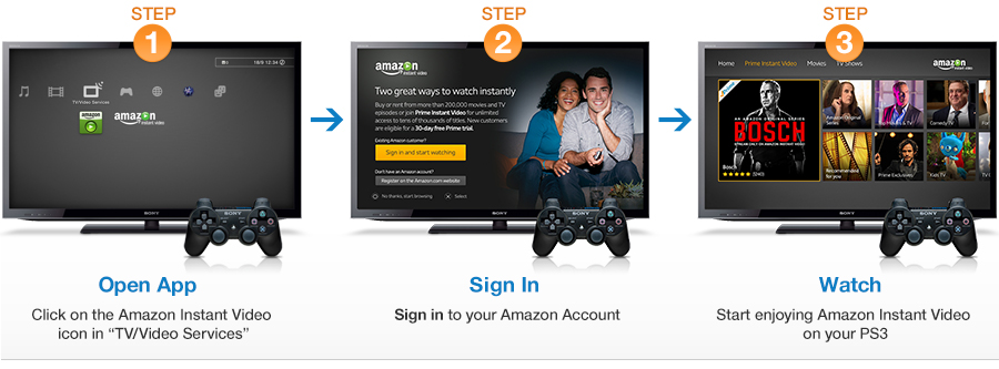 how to change language in amazon instant video
